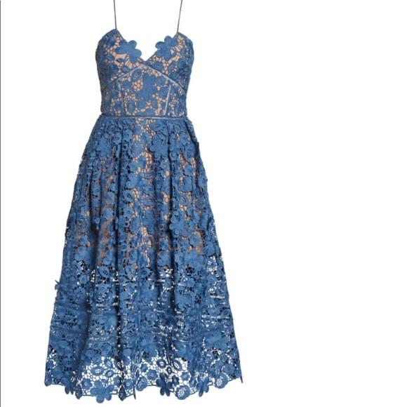 Self-Portrait Dresses & Skirts - Self-portrait Azaelea Lace Fit&Flare UK6
